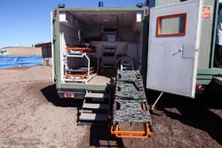 بیمارستان صحرایی با تجهیزات کامل درمانی از کرمان به خوزستان ارسال شد
