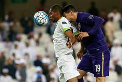 خسارة ذوب آهن الإيراني امام الاهلي السعودي ضمن دوري ابطال آسيا لكرة القدم