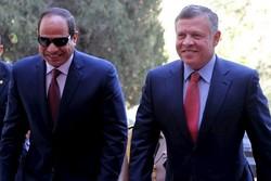 عبدالله دوم و السیسی