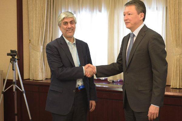 Iranian, Kazakh Olympics committees sign MoU