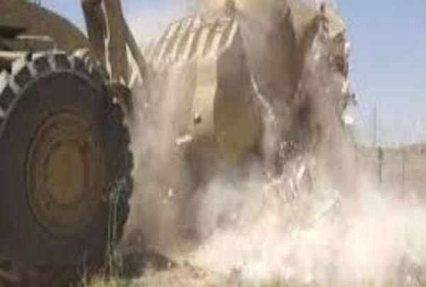 """""""داعش"""" يهدم منازل مواطنين رفضوا القتال معه بأيمن الموصل"""
