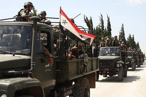 استمرار تقدم الجيش السوري في جنوب البلاد