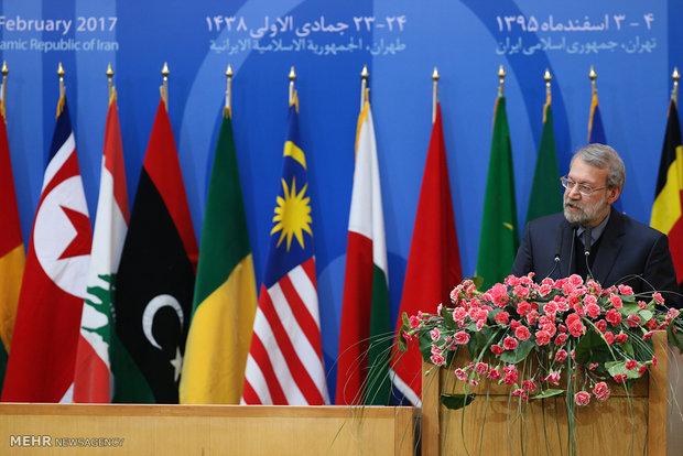 Larijani urges more awareness of Palestinians' plight