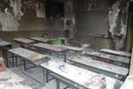 سقف کلاس درس در میناب فروریخت/زنگ وحشت در مدارس میناب