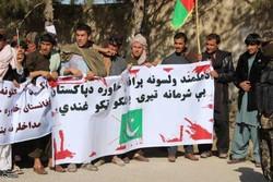شهروندان «هلمند» خواهان قطع روابط افغانستان با پاکستان شدند