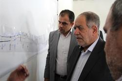 بازدید اکبر ترکان رئیس مناطق آزاد کشور از منطقه آزاد ارس
