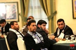 شباب غزة يكسرون الحصار ويشاركون طهران عن بعد /صور
