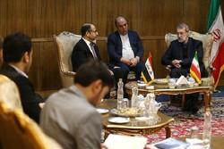 لاریجانی در دیدار رئیس مجلس عراق