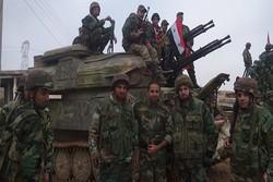 الجيش السوري يسيطر على مربط عنتر و نقاط أخرى محيطة بتدمر