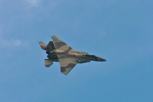 جنگنده اسرائیلی