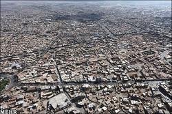 نمای هوایی شهر قزوین