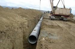 تحویل ۵ میلیون مترمکعب آب به کشاورزان اصفهانی در طرح لوله گذاری