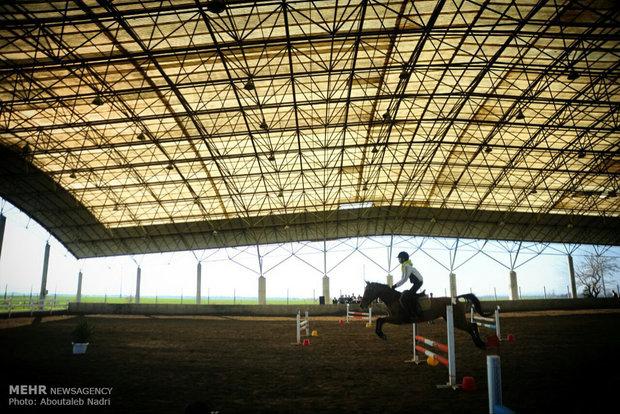 Horse racing in Gorgan