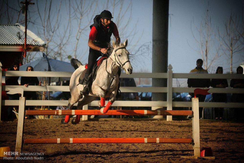 مسابقات پرش با اسب در گرگان