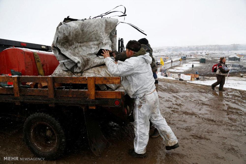 آخرین اعتراضات به احداث خط لوله داکوتای شمالی