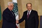 فیلم/ دیدار «میشل عون» و ابومازن در بیروت