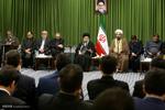 Leader receives religious poets
