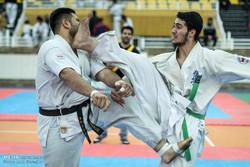 رقابت های کاراته قهرمانی امید کشور در شهرستان مریوان پایان یافت