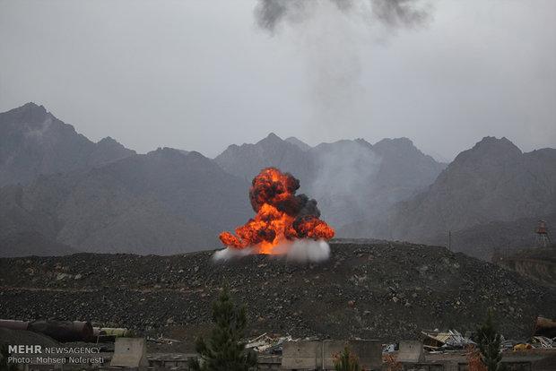 """الجيش الإيراني يطلق مناوراته العسكرية تحت عنوان """"بيت المقدس 29"""""""