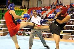 مسابقات رزمی «کیک جیتسو» استان مرکزی در خمین برگزار شد