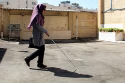 وجود ۲۳۰۰ نابینا در البرز/لزوم توجه شهرداران به حوزه مناسبسازی