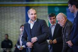 مراسم بهره برداری از پروژه های شهری شهرداری منطقه 2 با حضور محمد باقر قالیباف شهردار تهران