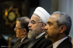 آغاز آخرین مجمع بانک مرکزی در دولت یازدهم/روحانی به میرداماد رفت