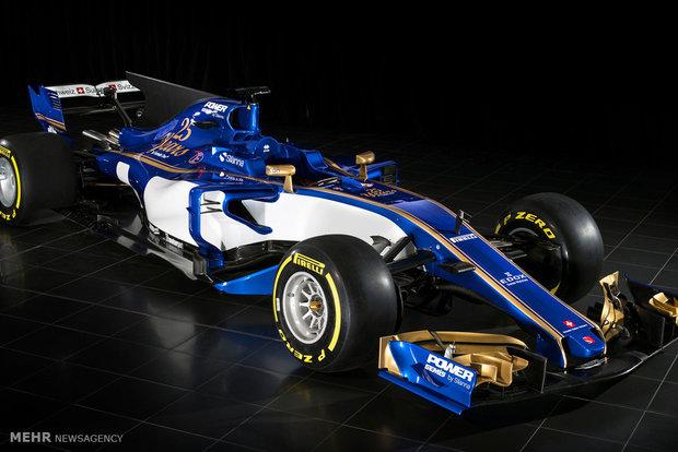 خودروهای فرمول یک 2017