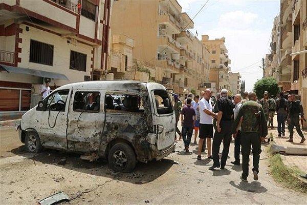 حملات خمپارهای عناصر تروریست به استان ادلب