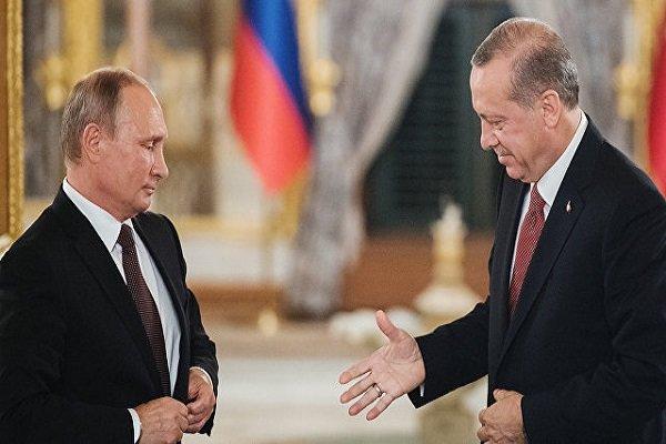 حل بحران سوریه؛ محور گفتگوهای اردوغان و پوتین در مسکو