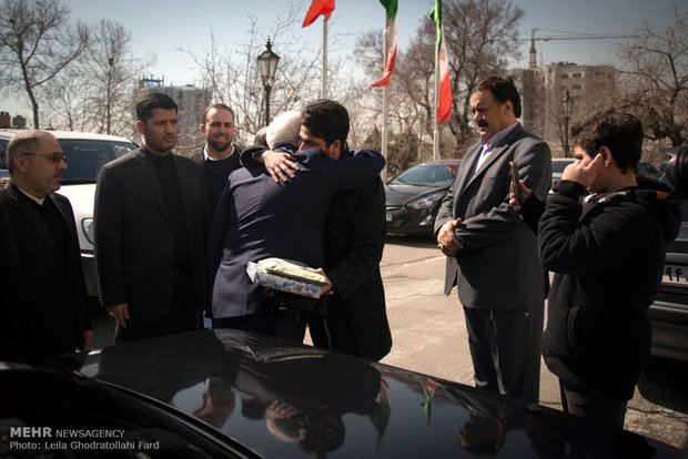 Commemoration of martyrs of Foreign Ministry