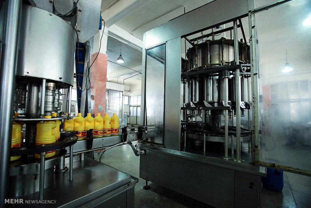 تصاویر افتتاح کارخانه تولید روغن های خوراکی ورامین