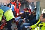 کوهنوردان محصور در برف نجات یافتند