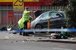 برخورد خودرو با عابران در لندن/تروریستی بودن این حادثه هم رد شد