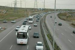 تردد وسایل نقلیه در محورهای استان مرکزی ۶۹ درصد کاهش داشت