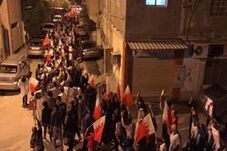 تظاهرات مردم بحرین در شب محاکمه آیت الله عیسی قاسم+تصاویر