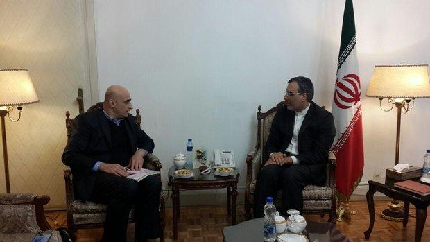 جابري انصاري يؤكد على استمرار مساعي ايران الدبلوماسية لانهاء الازمةالسورية