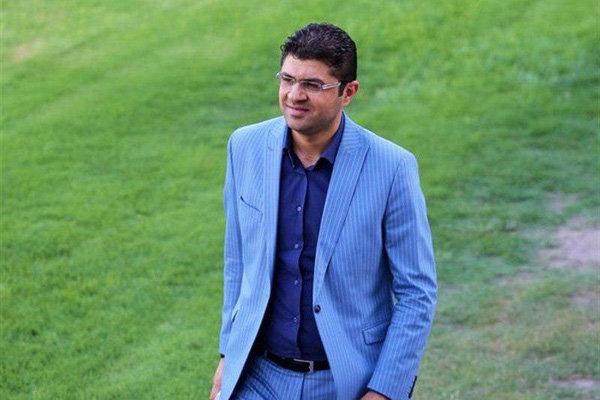 علی عباسی مدیرعامل باشگاه سیاه جامگان