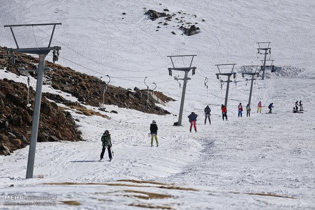 """Hamedan'daki """"Elvend Kayak Pisti"""""""