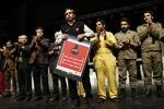 حضور سخنگوی آتش نشانی در تئاتر شهر/ یک کمپین راه اندازی شد