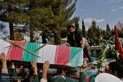 استقبال از کاروان شهدای گمنام و شهید  عبداللهی در کرمان