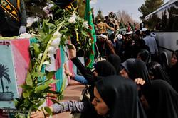 بیمارستان بقیه الله میزبان پیکر پاک دو شهید گمنام