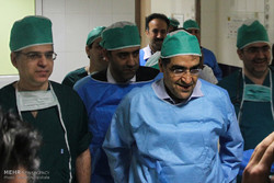 وزير الصحة الايراني يتفقد المشاريع الطبية بمحافظة كردستان /صور