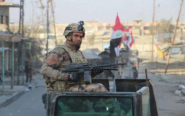 قائد عسكري عراقي يعلن تحرير حي الطيران غربي الموصل