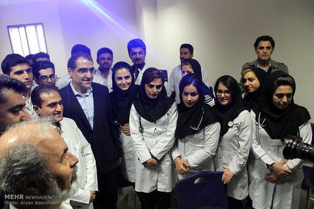 وزير الصحة الايراني يتفقد محافظة كردستان