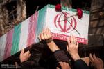 پیکر شهید «نیکنام مهرآوران» در پارسآباد تشییع شد