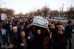 مراسم وداع با پیکر شهید «حسین سپهر» در همدان برگزار شد