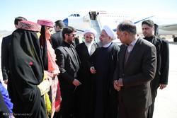 زيارة الرئيس روحاني الى سيستان وبلوشستان /صور