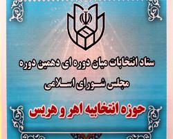 صلاحیت ۳ نفر از داوطلبان انتخابات میاندورهای اهر و هریس رد شد