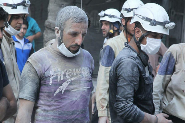 'White Helmets' participate in smear campaign against Syria gov't